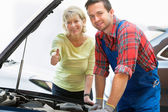 Auto repair shop — Stock Photo