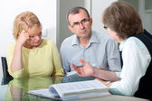 Couple having relationship counselling — Stock Photo