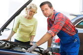 Auto Repair Shop — Stockfoto