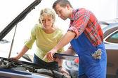 Auto repair shop — Stock Photo