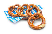 Bavarian pretzels — Stock Photo