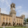 Stock Photo: RoccPallavicino castle, Busseto
