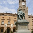 Stock Photo: Verdi monument in Busseto