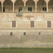 Loggia and moat, Fontanellato — Foto de Stock