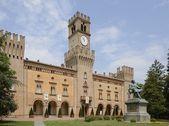 Rocca Pallavicino castle, Busseto — Stock Photo
