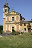 Old church, Vidalenzo, Polesine Parmense — Fotografia Stock