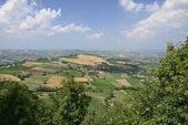 Val Tidone summer landscape — Stock Photo