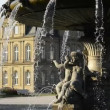 Stock Video: Baroque fountain, Stuttgart
