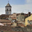 Roofs at Capoliveri, Elba — Stock Photo