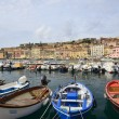 Boats at Portoferraio harbour, Elba — Stock Photo