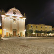 Stock Photo: Church square at night, MarcianM