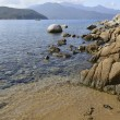 Forno beach, Elba — Stock Photo