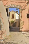 Old passage at Marciana, Elba — Stock Photo