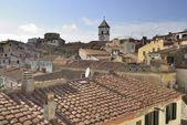 Capoliveri roofs, Elba — Stock Photo
