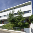 Stock Photo: Courbusier house east side, Weissenhof, Stuttgart