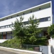 Courbusier house east side, Weissenhof, Stuttgart — Stockfoto #18458953
