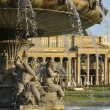Stock Photo: Fountain and Old Bourse, Stuttgart