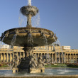 Stock Photo: Old Bourse and fountain, Stuttgart