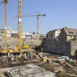 Foto Stock: Big building site, Stuttgart