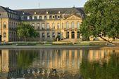 New Castle at dawn, Stuttgart — Stock Photo