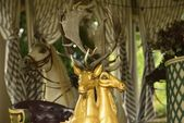 Antik carousel, ludwigsburg — Stok fotoğraf