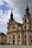Church on Marketplatz, Ludwigsburg — Stock Photo