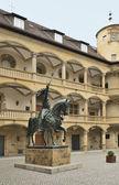 Old Castle inner court, Stuttgart — Stock Photo