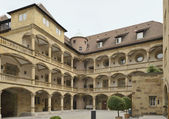 Courtyard at Old Castle, Stuttgart — Stock Photo