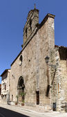 Romanesque church, Leonessa — Stock Photo