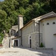 Stock Photo: Church of Greccio Franciscmonastery, Rieti