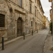 Stock Photo: SFrancesco street, Rieti