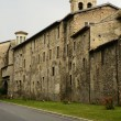 Medieval city walls, Rieti — Stock Photo