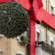 Xmas decoration in fashion district 1, Milan — Stock Photo