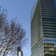 Stock Photo: New tall buildings at business hub, MIlan