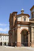 ミンスター pronao、ボゲーラ、イタリア — ストック写真