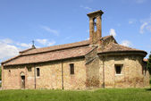 Pieve apse and south side, Volpedo, Italy — Foto de Stock