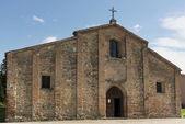 Pieve facade, Volpedo, Italy — Stock Photo