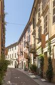 Bissati street, Alessandria, Italy — Stock Photo