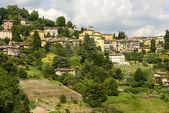Borgo Canale view, Bergamo — Stock Photo