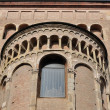 Cathedral transept, parma — Stock Photo #7444157