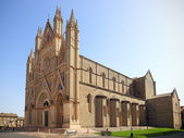 Orvieto Cathedral, Umbria, Italy — Stock Photo