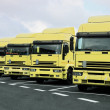 Many trucks — Stock Photo #12080586