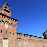 Sforza's Castle in Milan, Italy — Stock Photo #12080741