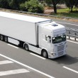 Blank white truck — Stock Photo #12084908