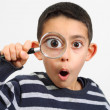 Little child looking with surprise — Stock Photo #12085088