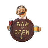 Bar sign — Stock Photo