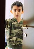 Poważne u dziecka — Zdjęcie stockowe