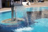 Hidrotherapy waterfall jet — Stock Photo