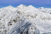 Alps mountain covered with snow in winter, italy — Stock Photo