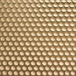 Golden metal grid background — Stock Photo